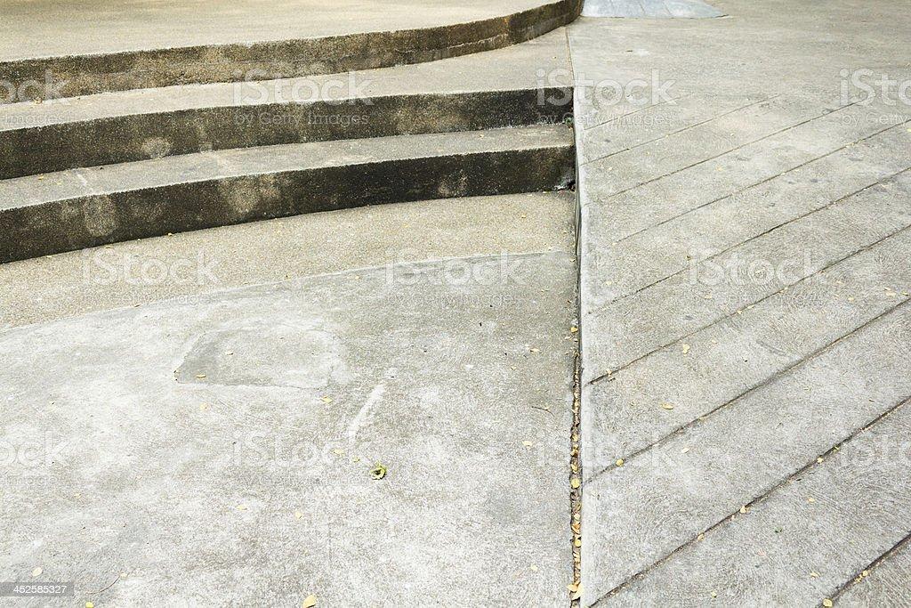 cement walk texture stock photo