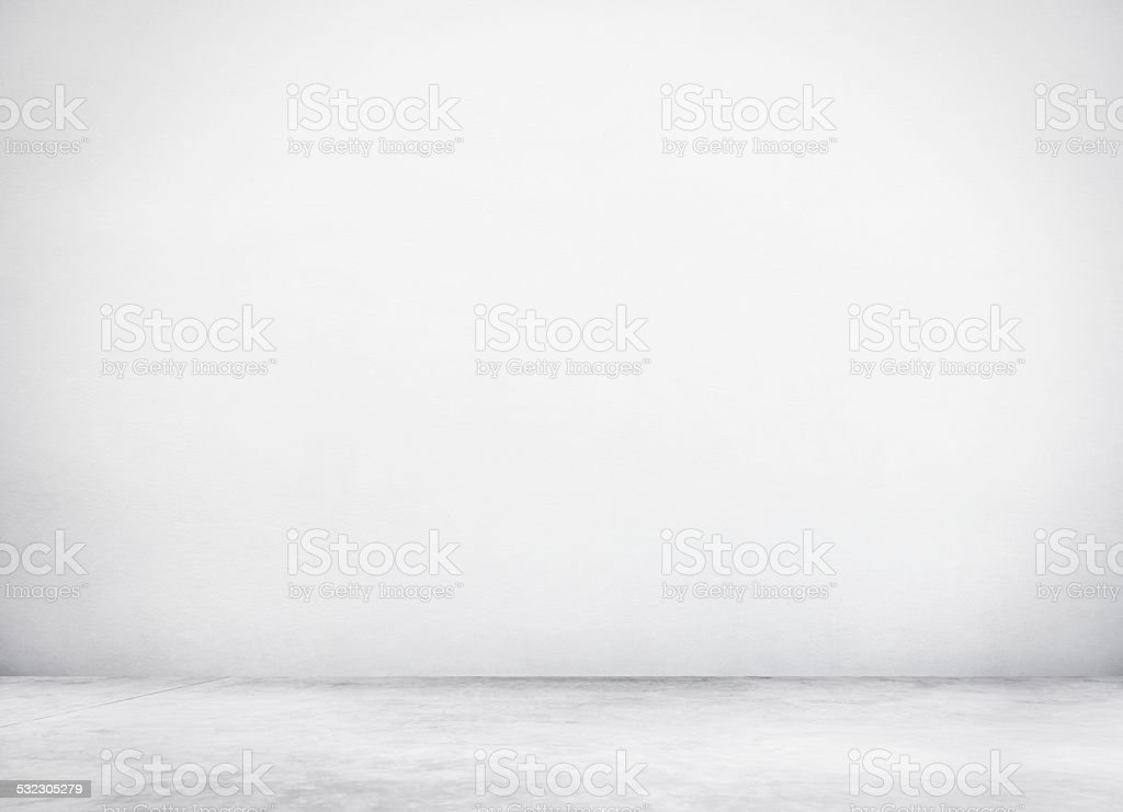 Cement Wall and Floor for Copy Space stock photo