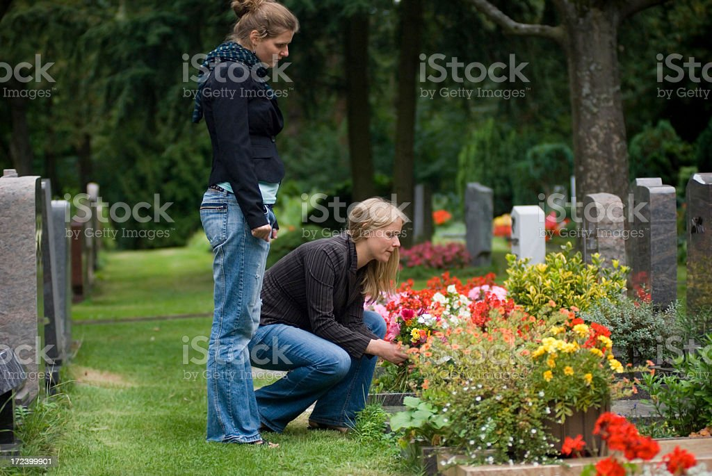 Cementary royalty-free stock photo