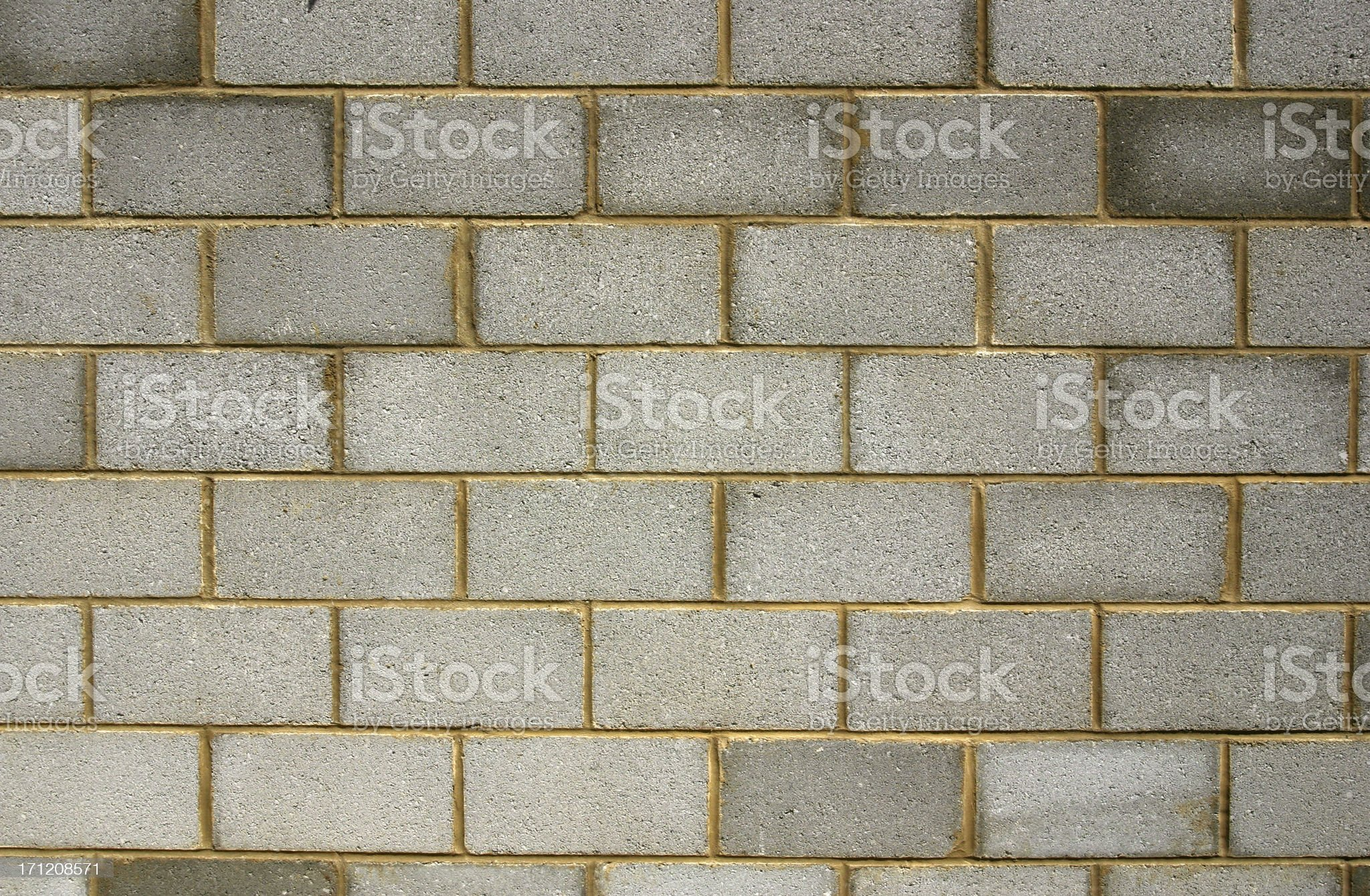 cemented wall building blocks royalty-free stock photo