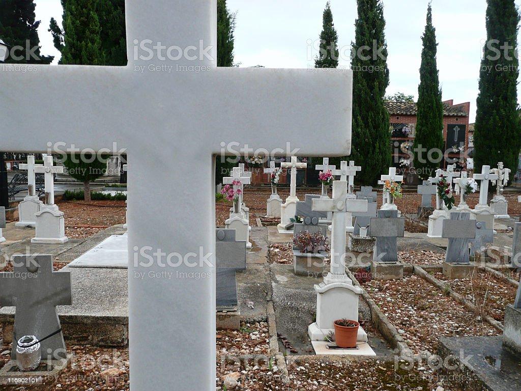 Cementeri stock photo