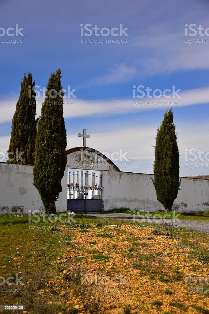 Cementerio stock photo