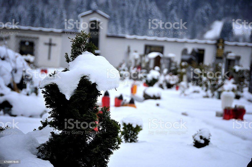Cementery stock photo