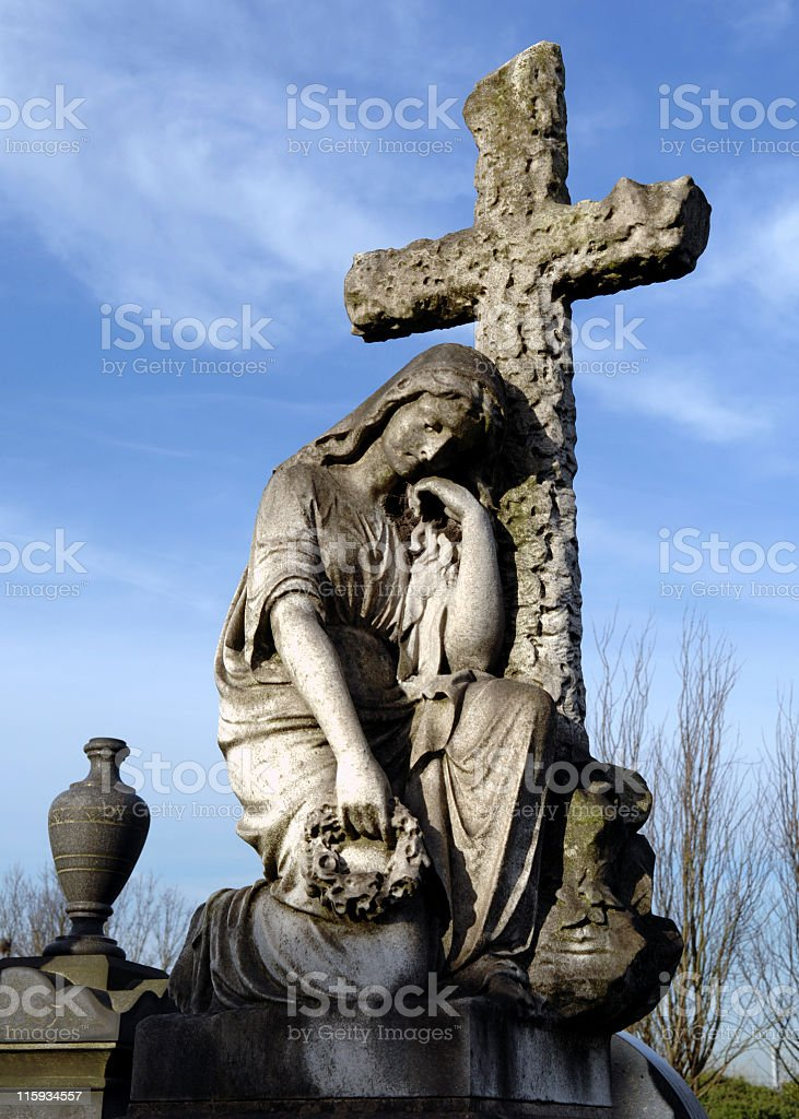 Cemetary Monument royalty-free stock photo
