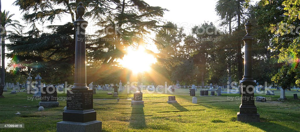Cemetery 1 royalty-free stock photo