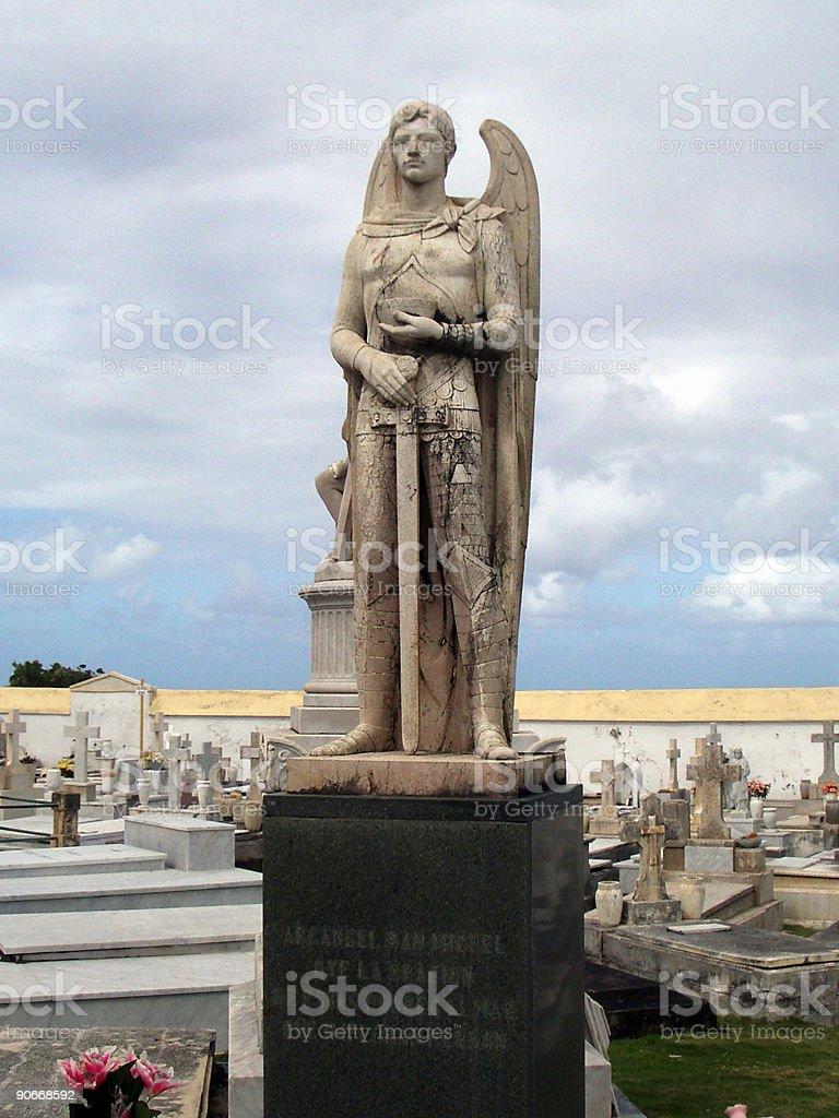Cemetery 2 royalty-free stock photo