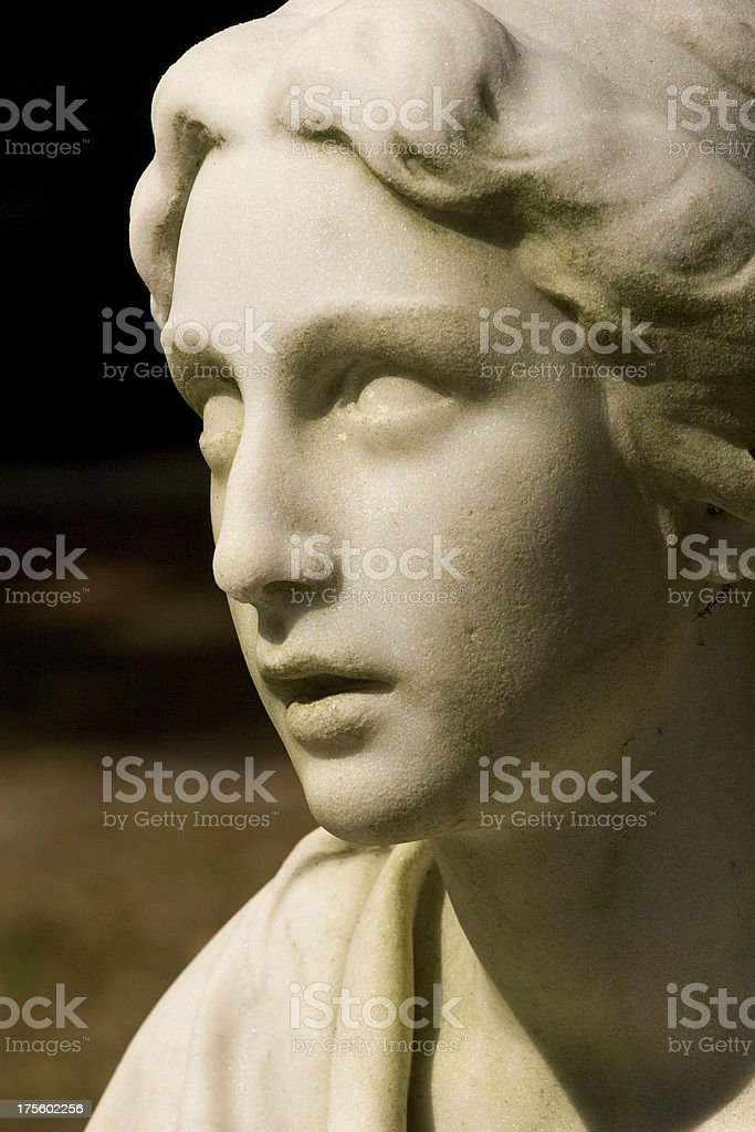 Cemetery Angel stock photo