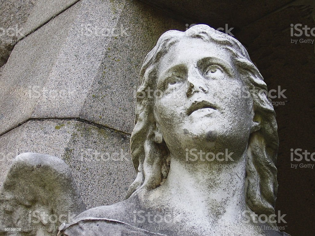 Cemetery Angel royalty-free stock photo