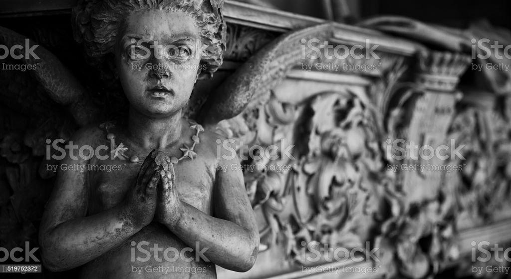 Cemetery architecture - Europe stock photo