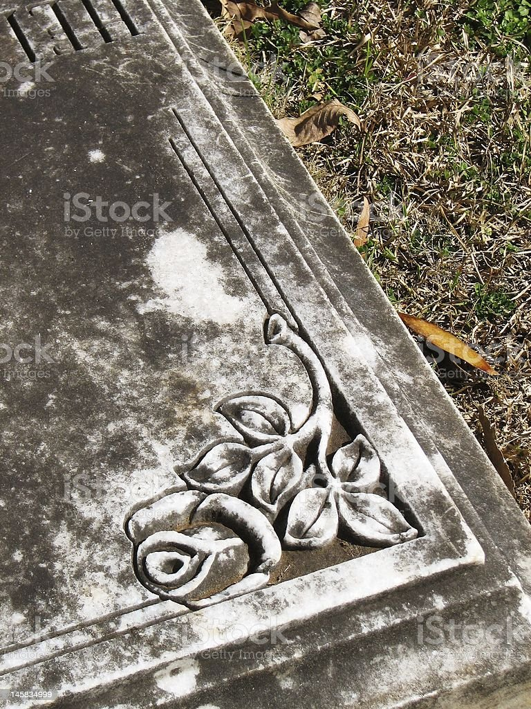 Cemetery Grave royalty-free stock photo