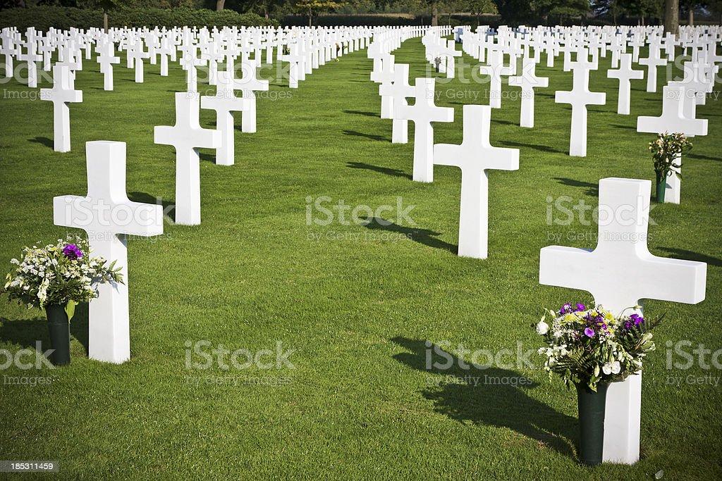 Cemetery Margraten # 4 stock photo