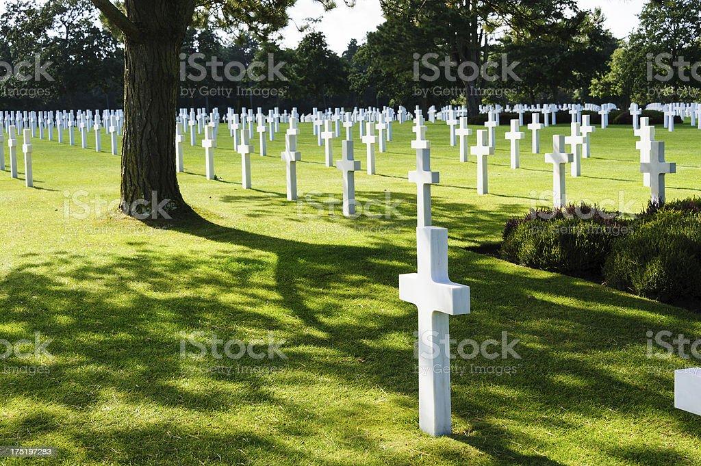 Cemetery Peacefulness stock photo