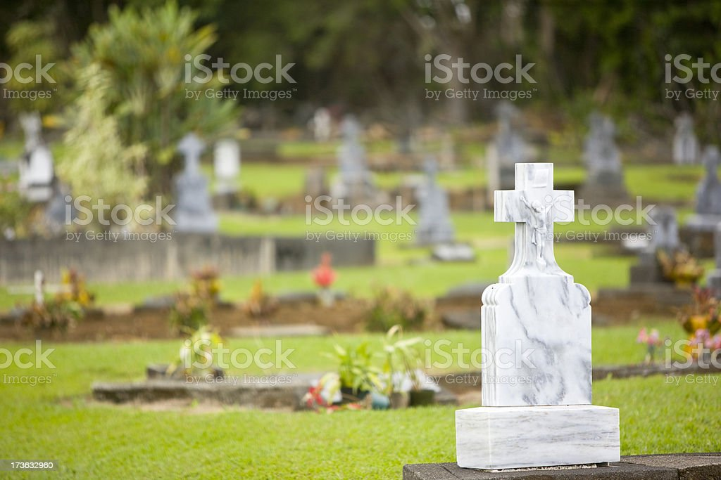Cemetery royalty-free stock photo