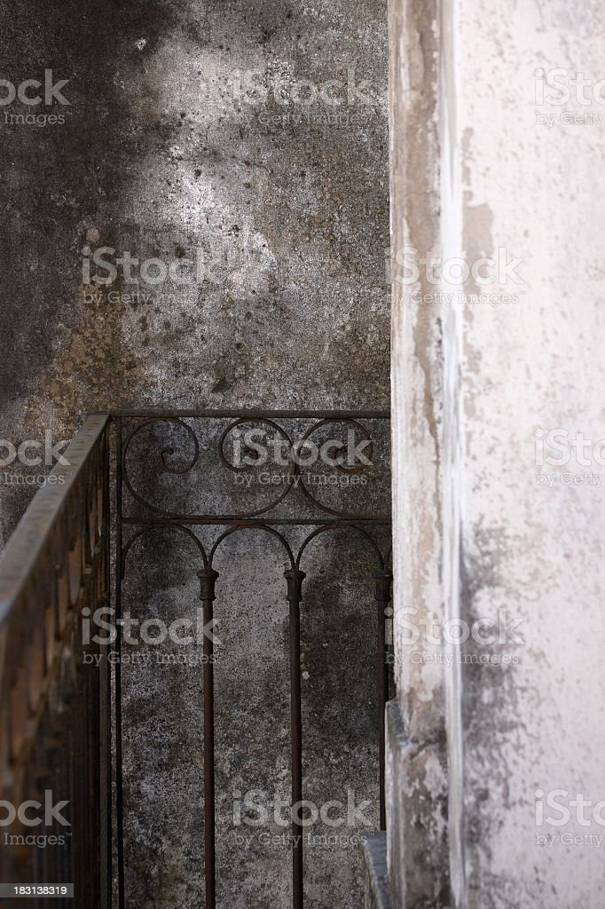 Cemetery walls royalty-free stock photo