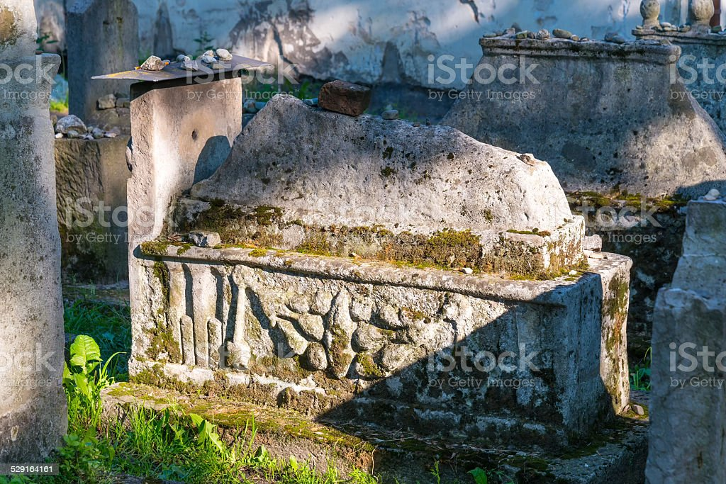Cemetry stock photo