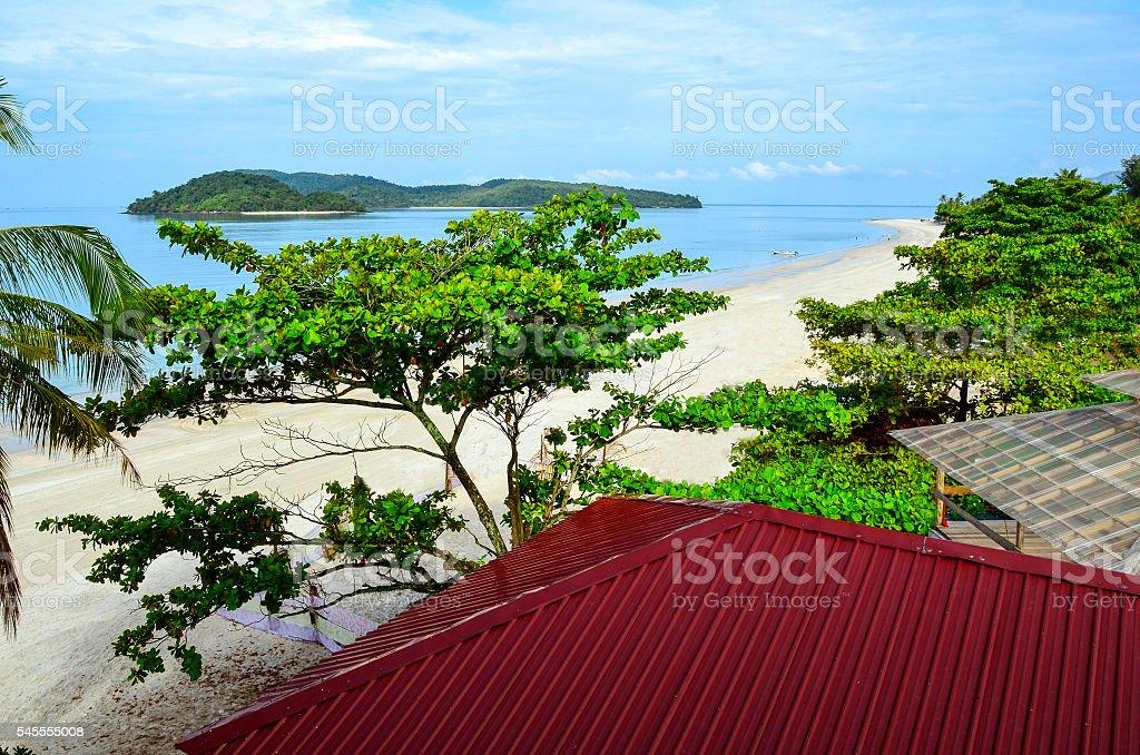 Cenang Beach stock photo