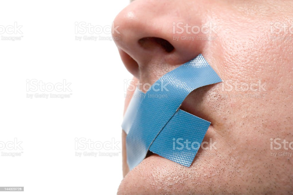 Censored royalty-free stock photo
