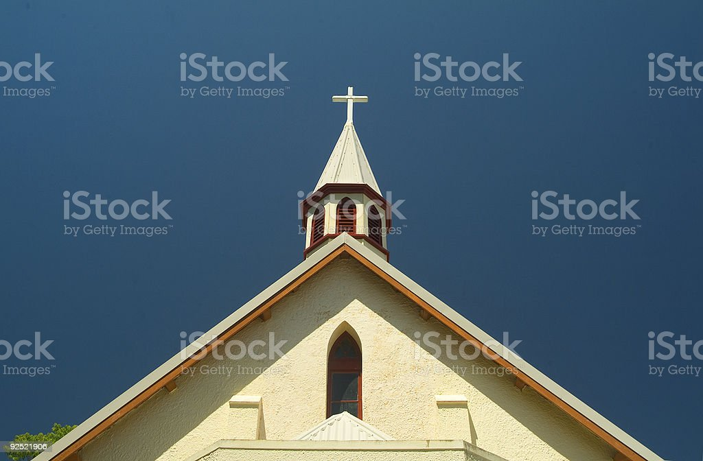 Cental cross royalty-free stock photo