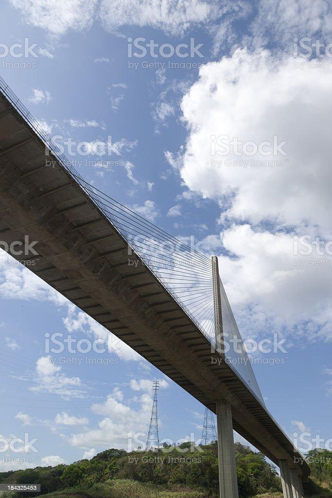 Centennial Bridge, Panama Canal stock photo