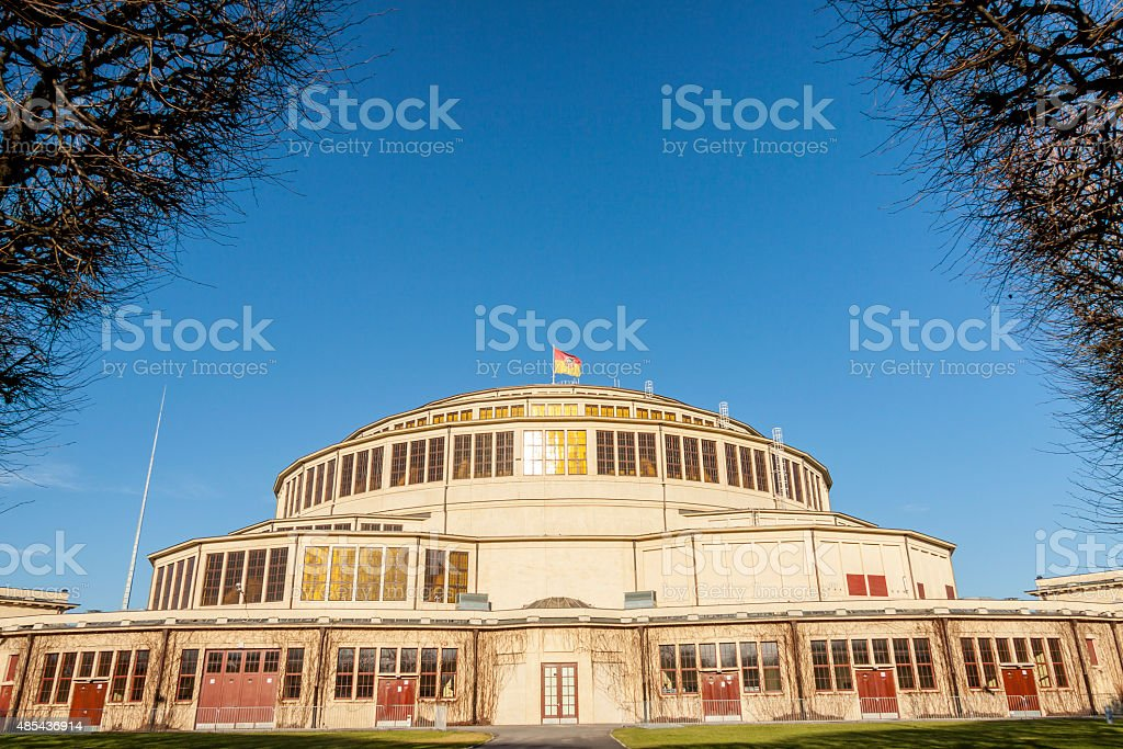 Hala Stulecia - Wroclaw, Poland. stock photo