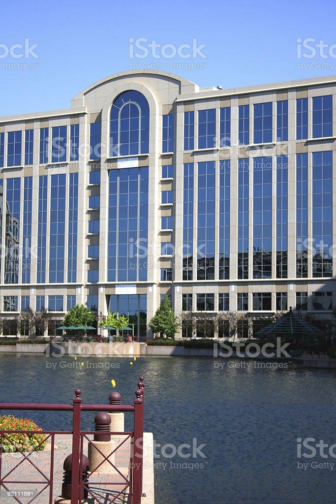 Centennial Lakes Architecture stock photo