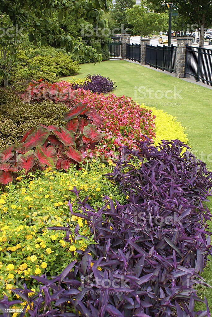Centennial Olympic Park Atlanta Georgia royalty-free stock photo