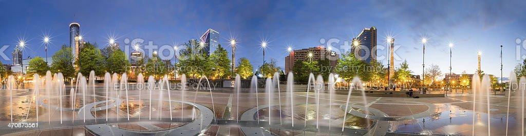 Centennial Olympic Park stock photo