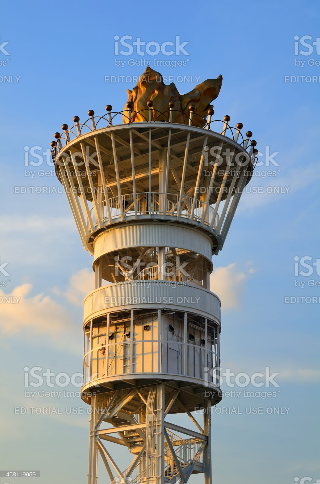 Centennial Olympic Torch royalty-free stock photo