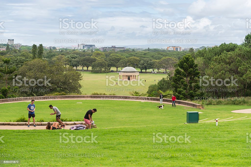 Centennial Park Sydney stock photo