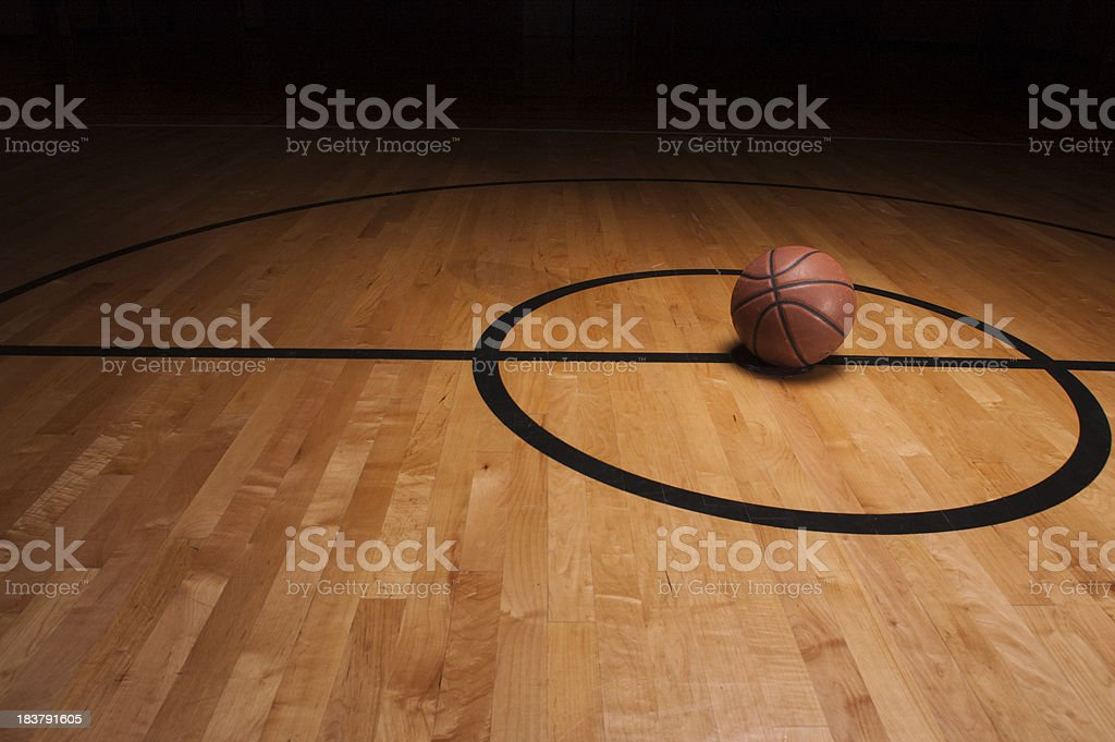 Center Court Ball royalty-free stock photo