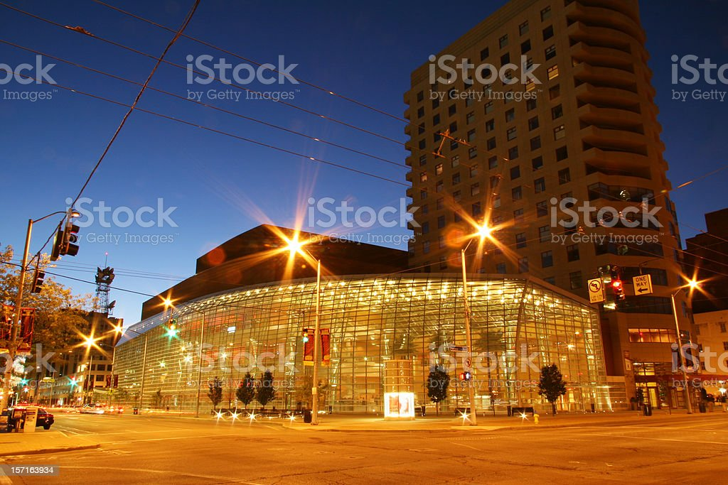 Center, Dayton, Ohio stock photo