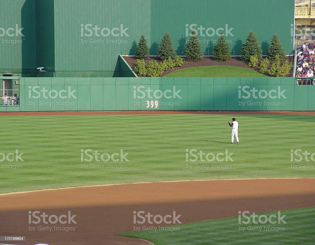 Center Field stock photo