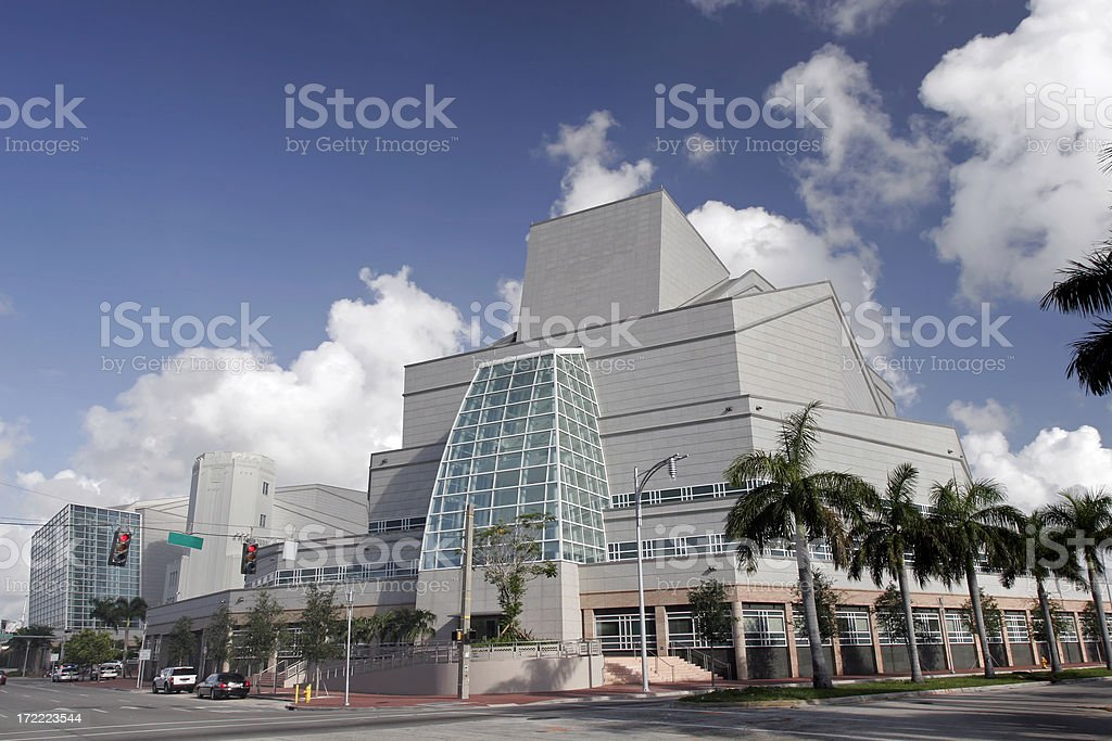 Center for the Performing Arts stock photo