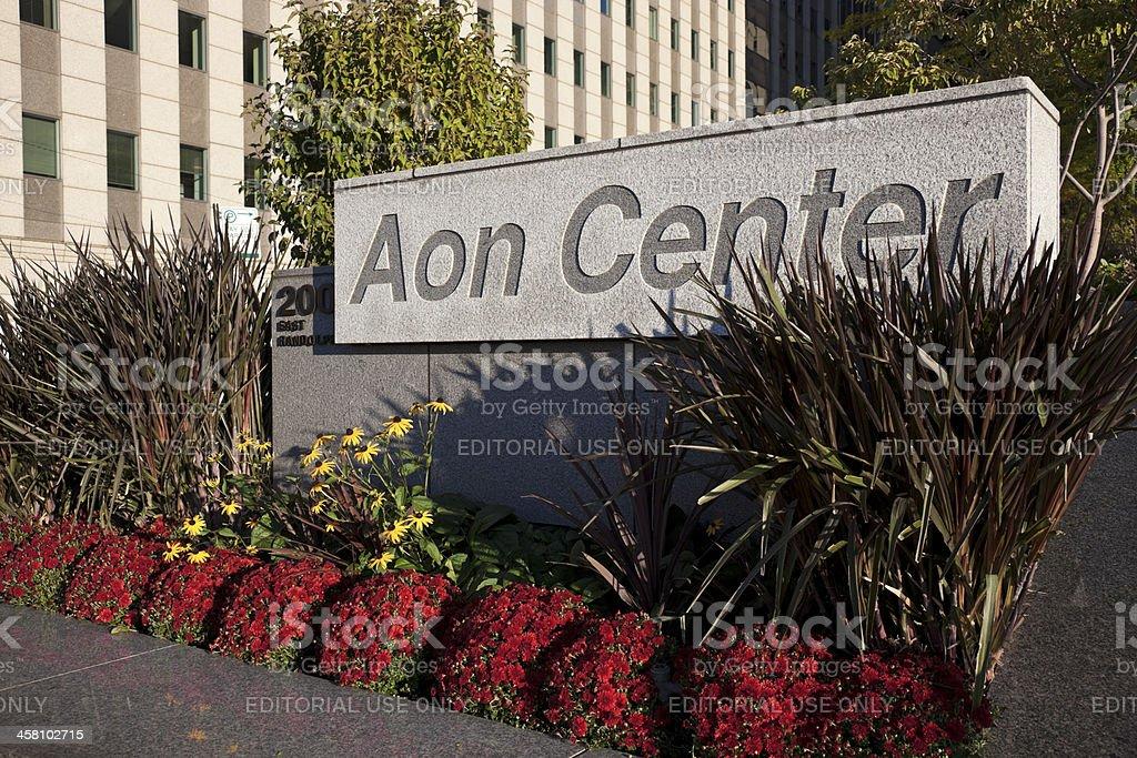 AON Center stock photo