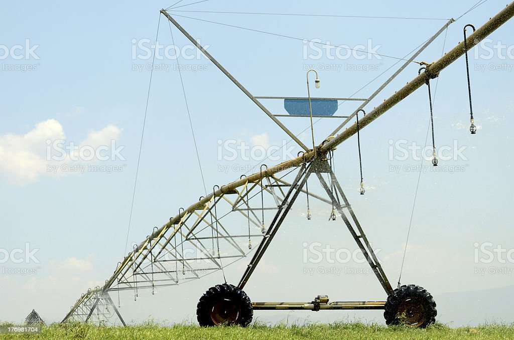 Center pivot irrigation system royalty-free stock photo