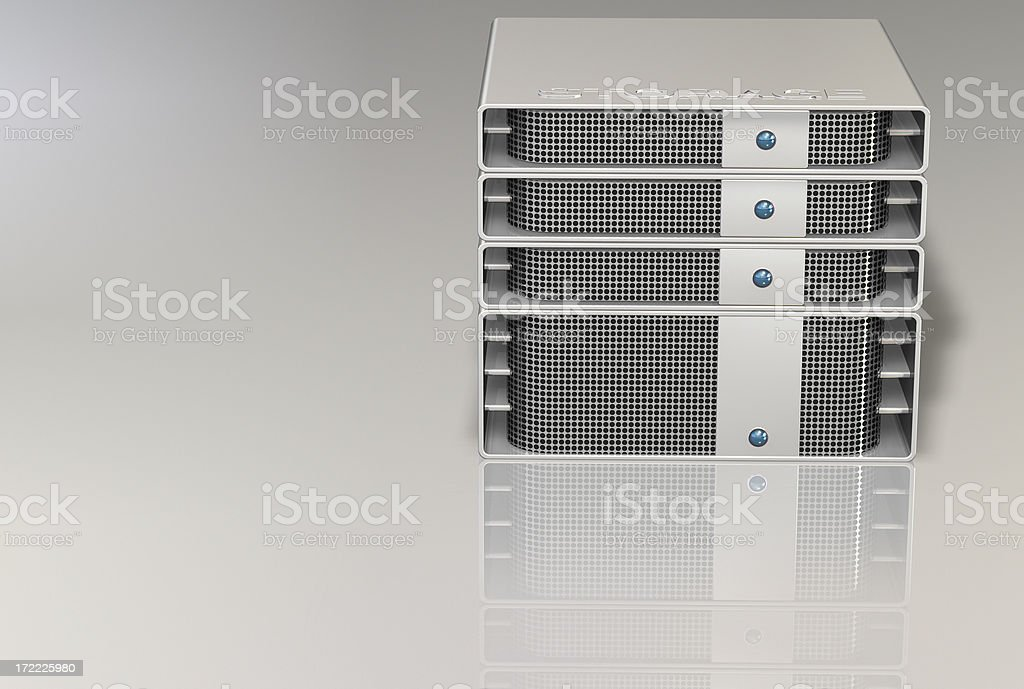 center storage server 004 royalty-free stock photo