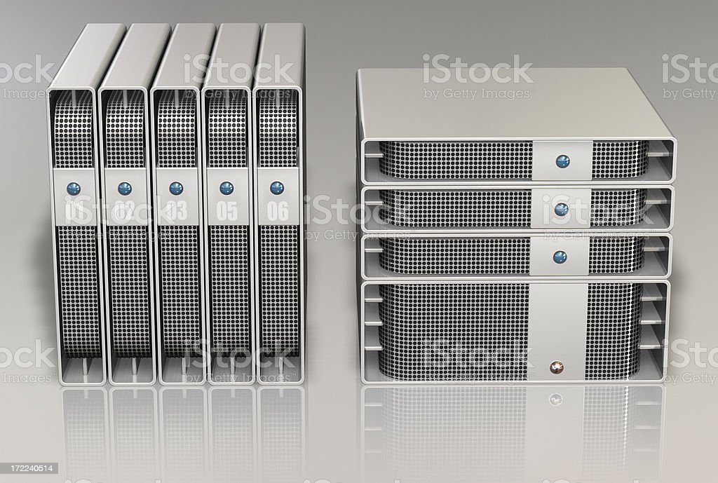 center storage server 005 royalty-free stock photo