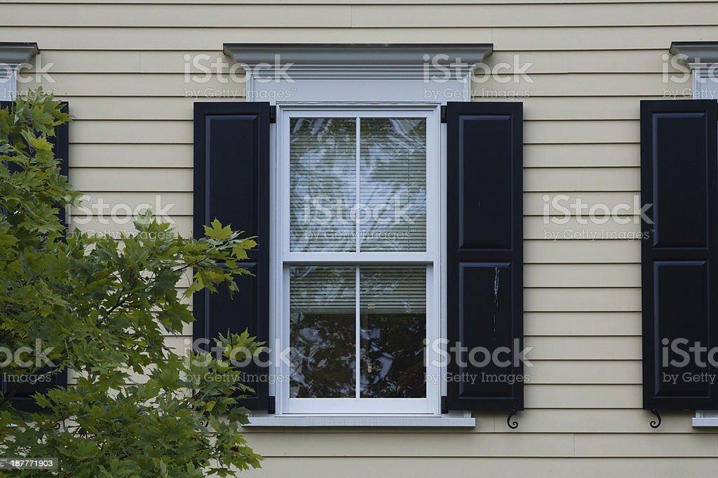 center window stock photo