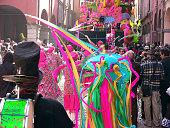 Cento Carnival Ribelli float