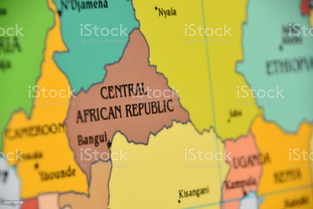 Central African Republic stock photo