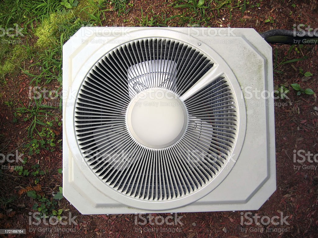 Central Air Conditioner 2 royalty-free stock photo