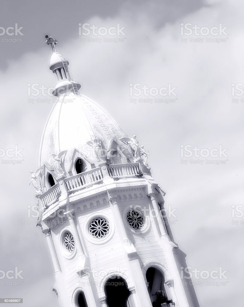 Central American Church royalty-free stock photo
