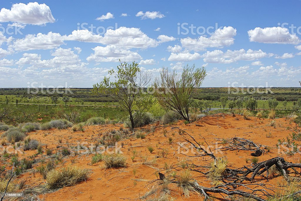 Central Australia landscape royalty-free stock photo