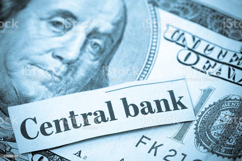 Central Bank stock photo