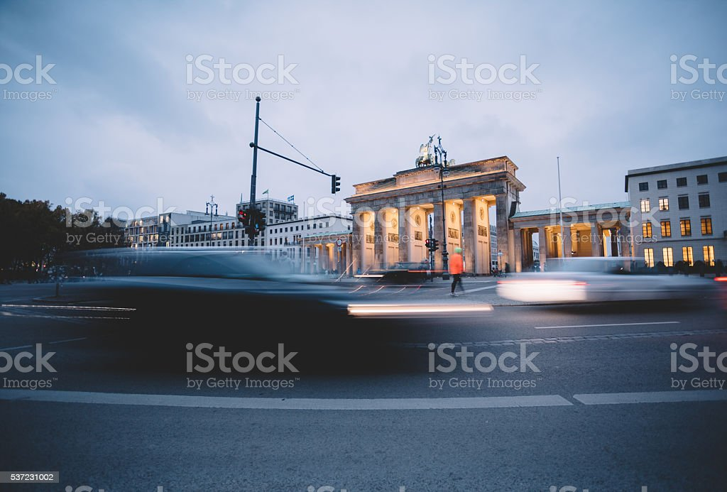 Central Berlin stock photo
