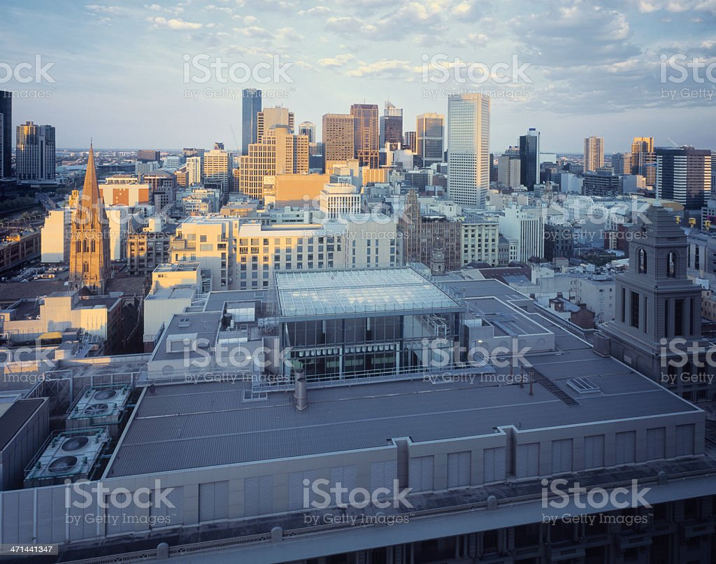Central Business District, Melbourne, Victoria, Australia royalty-free stock photo