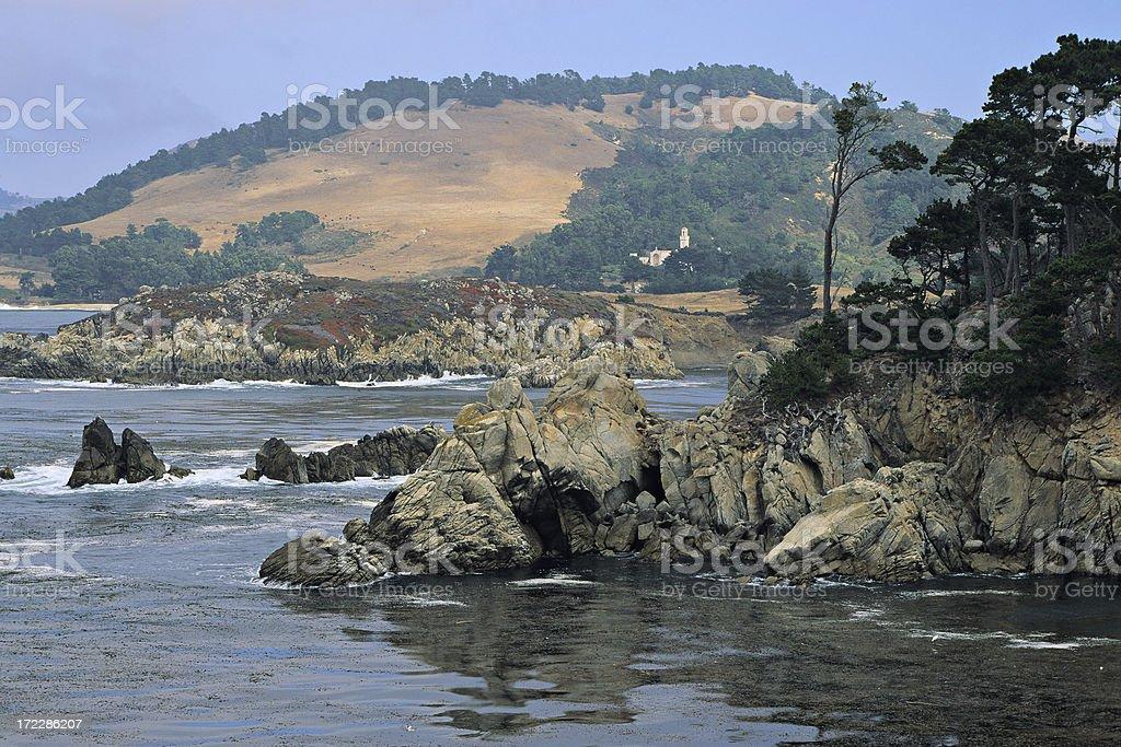 Central California Coastline stock photo