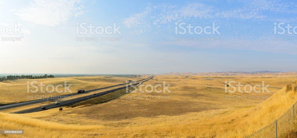 Central California Panorama stock photo