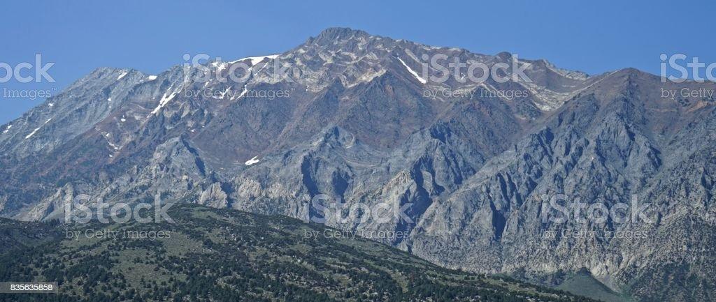 Central California Peak stock photo