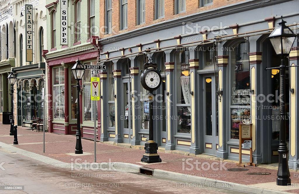 Central City, Colorado royalty-free stock photo